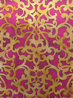 Stencil Patterns Donatella Damask Wall Stencil