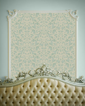 Donatella Damask Wall Stencil