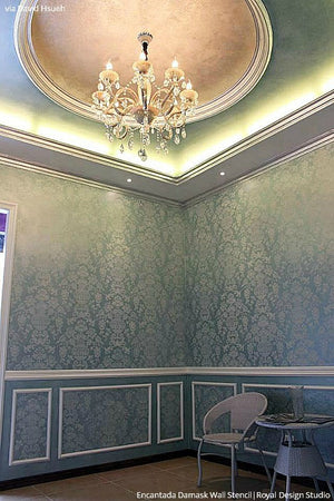 Classic European and Italian Designs - Wallpaper DIY Wall Stencils - Royal Design Studio