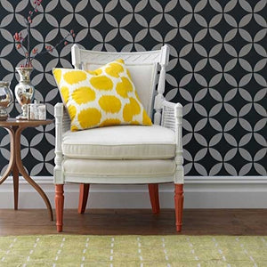 Moroccan Stencils Endless Moorish Circles Shapes for Stenciling - Royal Design Studio