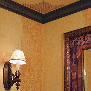 Ceiling Stencils European Lace