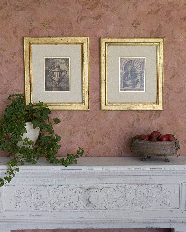 Gilded Frames with Royal Stencl Size