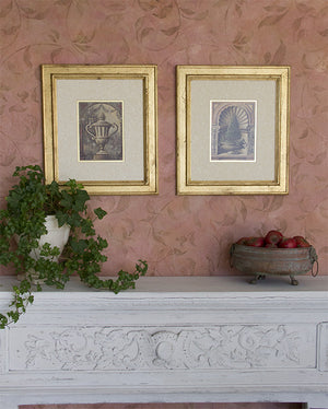 How to gild a frame with gold leaf and Royal Stencil Size