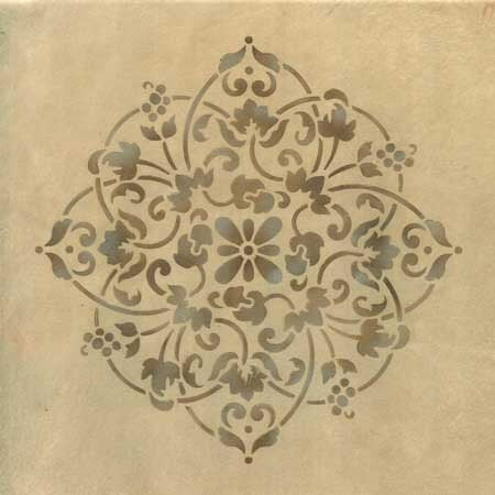 Floral Medallion Set B Wall Stencils