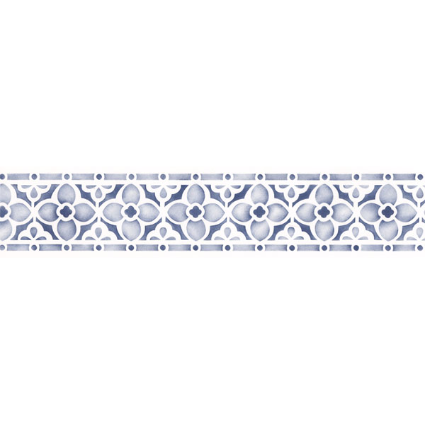 Stencils Flower Chain Border Stencil Royal Design Studio