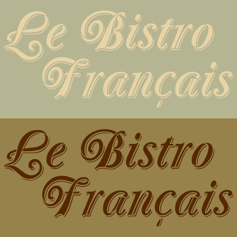 french kitchen design with french saying letter stencils royal design studio