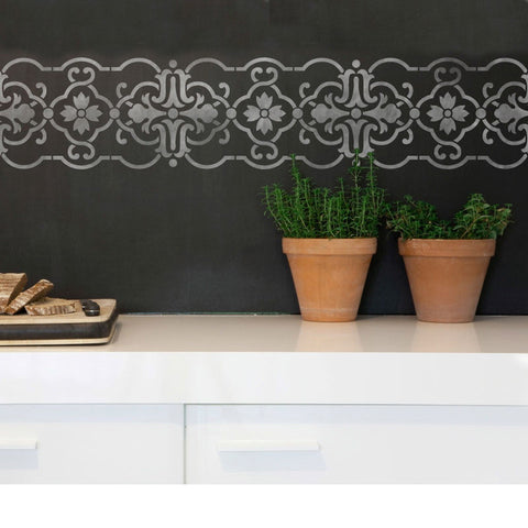 Border Stencils Granada Stencil Royal Design Studio