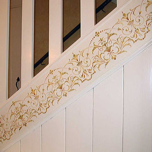 Hampton Frieze Ceiling Stencils pattern