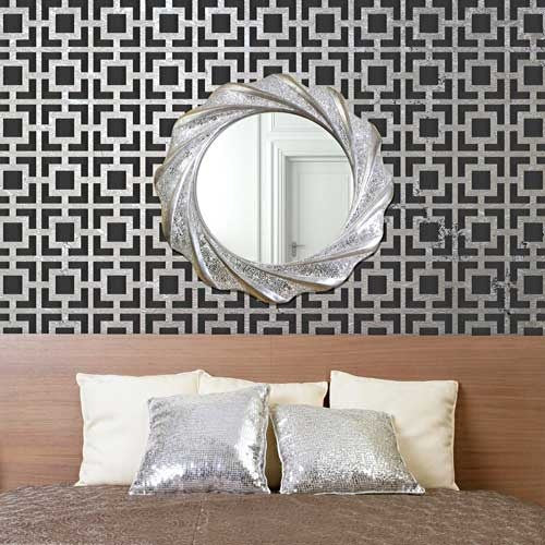 Design Stencils For Walls painting patterns at home 10 outstanding ideas Modern And Retro Wall Decor Geometric Wall Designs Hollywood Squares Wall Stencils Royal
