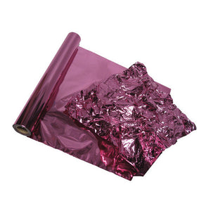 Orchid Purple Metallic Color Foil for Decorative Wall Finishes