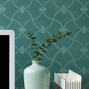 Moroccan Stencils Curved Connection Wall Stencils - Royal Design Studio