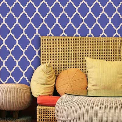Trellis Stencils For Walls Stencil Wallpaper Lattice