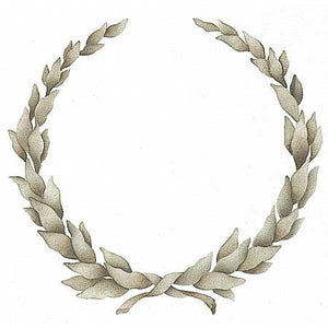Furniture Stencils | Laurel Wreath Stencil