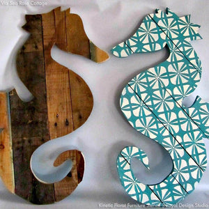 Modern and Geometric Patterns - Colorful Furniture Stencils for Painting and DIY Decor - Royal Design Studio