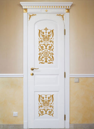 Ornate Italian Panel Wall Stencils