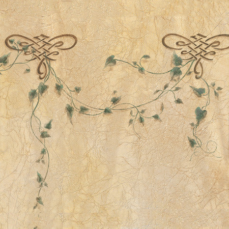 Ivy Floral and Vine DIY Wall Mural Art Stencils