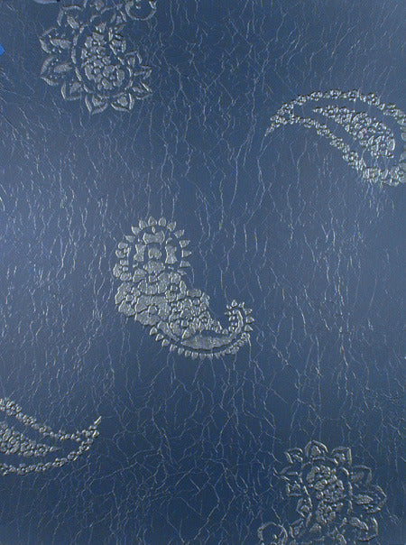 DIY wall painting with paisley pattern wall art stencils