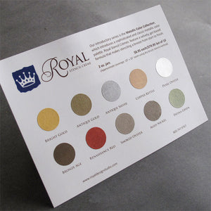 Stencil Paint colors