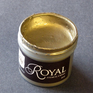 Stencil Paint Antique Gold Stencil Creme