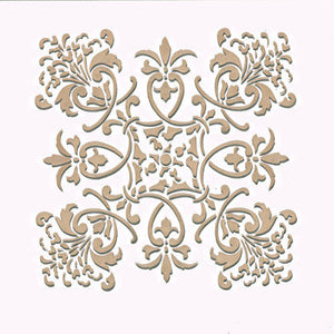 Large Tile Wall Stencils - Florence Tile Stencils - Royal Design Studio