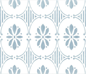 Swedish Flower Stencils for Classic European Design and Home Decor - Royal Design Studio