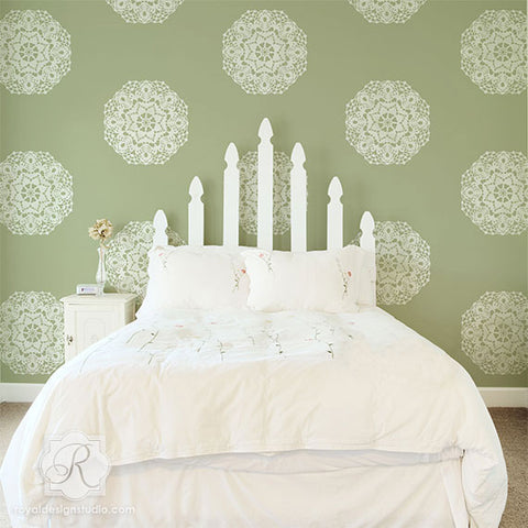 Wall Mural Stencils wall art & wall mural stencils for painting - diy wall stencils