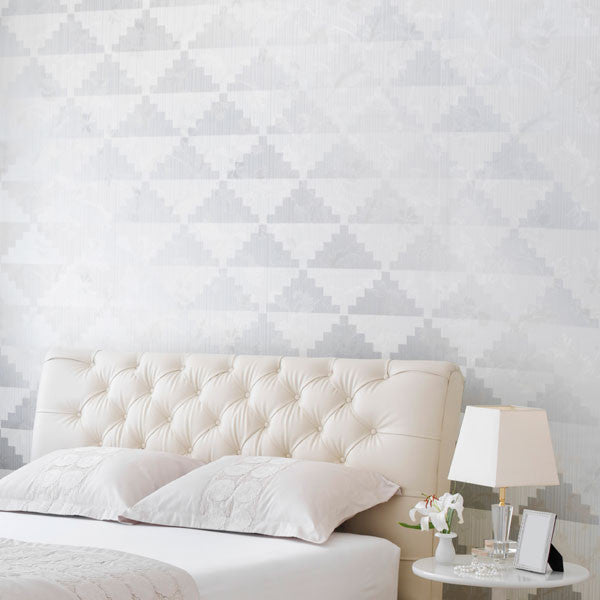 Geometric Triangles and Modern Furniture and Wall Stencils - Royal Design Studio