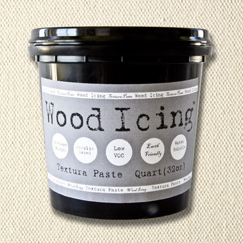 Wood Icing Textura Paste for adding crackle finish