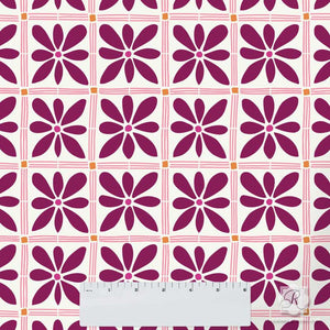 African Flower Craft Stencils for Painting Small DIY Projects - Royal Design Studio