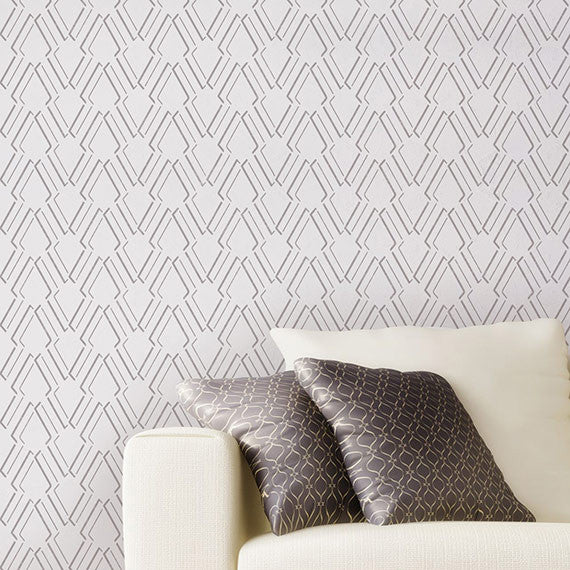 DIY Wall Decor and Room Makeover Ideas - Decorate with Wall Stencils from Royal Design Studio