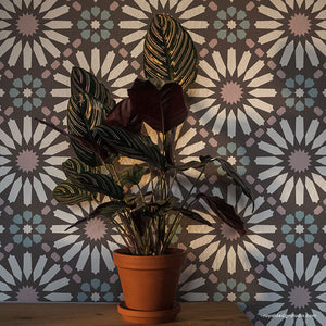 NEW! Baraka Tile Allover Stencil