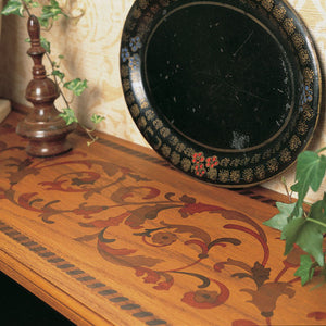 Furniture and Border Stencils with Vines and Leaves - Royal Design Studio