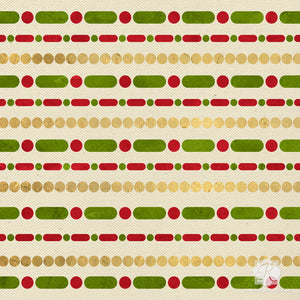 Stencil Candy Cane Stripes on Fabric or Furniture - Royal Design Studio