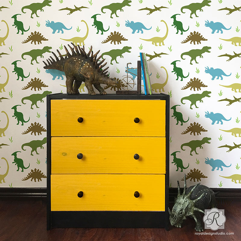 Dorable Kids Dinosaur Wall Art Frieze - Wall Art Collections ...