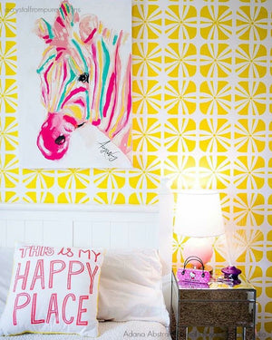 Colorful DIY Decor Painted Walls for Nursery Kids Room - Royal Design Studio