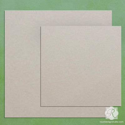 Square Tile Wall Art Wood Shapes to Paint and Decorate for Faux Tile Backsplash and Wall Decor - Royal Design Studio