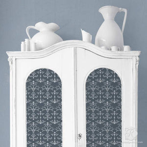 Painted Furniture Stencils - DIY Italian Design - Royal Design Studio