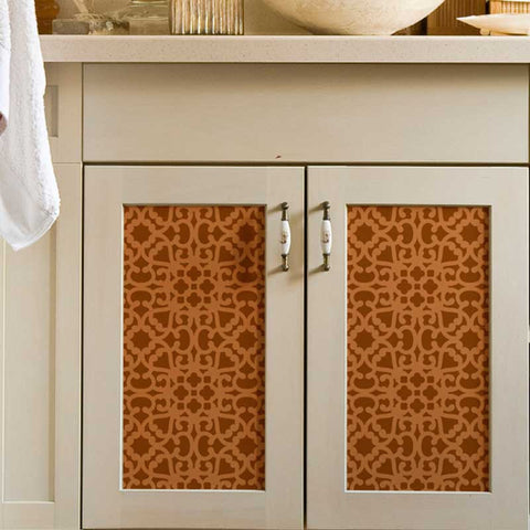 Painted Furniture Stencils For Decorative And DIY Home Decor   Royal Design  Studio Moroccan Stencils