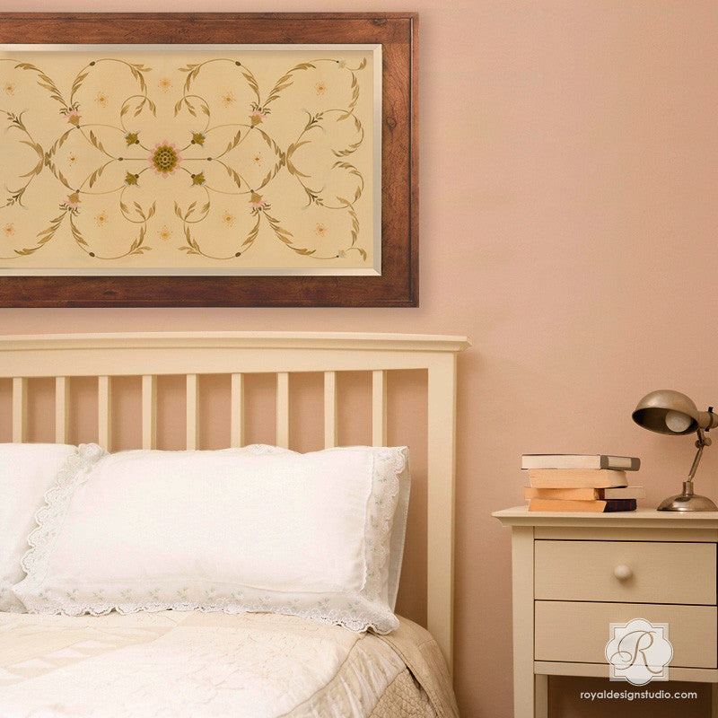 DIY Italian Decor   Panel Painted Furniture Stencils   Royal Design Studio. DIY Italian Decor   Panel Painted Furniture Stencils   Royal