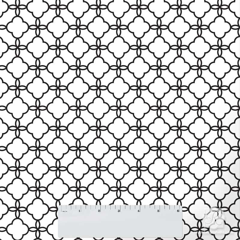 Eastern Lattice Moroccan Craft Stencil