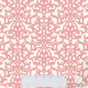 Elegant DIY Craft Projects for Classic Home Decor - Donatella Damask Craft Stencils - Royal Design Studio