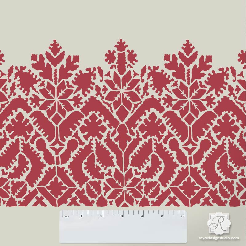 Moroccan Lace Craft Stencil