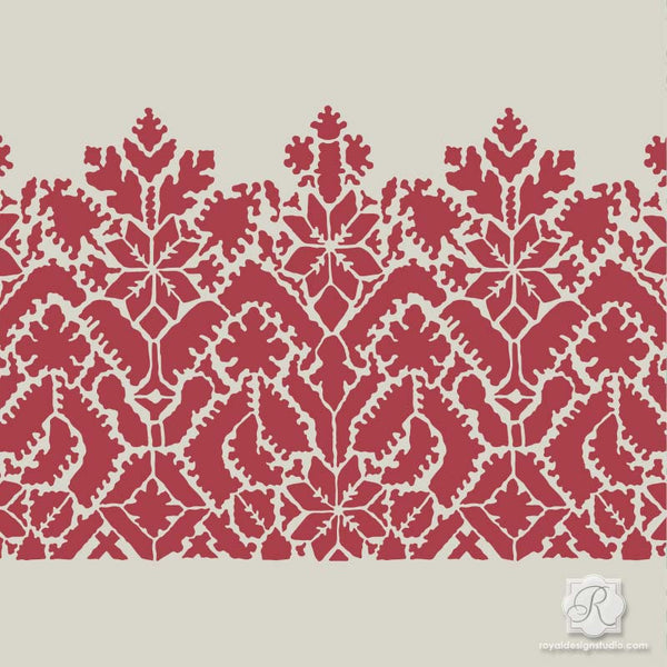 Awesome Moroccan Lace Craft Stencil