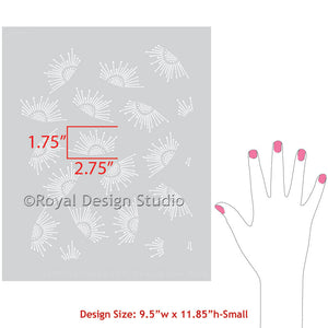 Decorating modern home decor with cute furniture stencils - Royal Design Studio