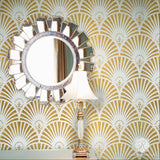 Gatsby Glam Art Deco Wall Stencil
