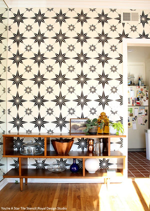 NEW! You're a Star Tile Stencil
