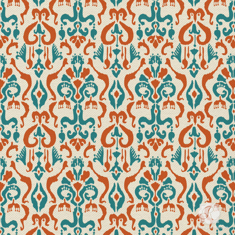 Ikat Pattern Furniture Crafting Stencils Diy