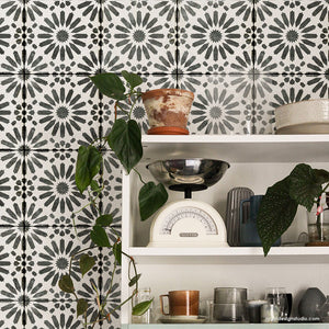 NEW! Baraka Tile Stencil
