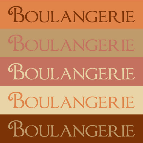 french bakery word letter stencils kitchen and dining room wall decor royal design studio