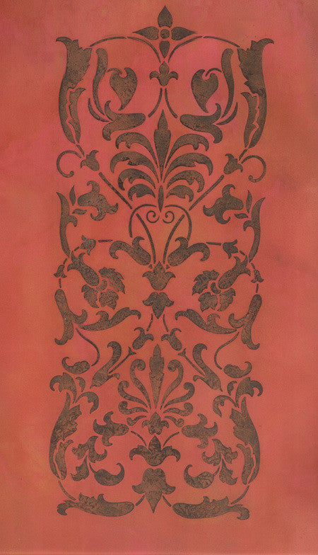 Wall Stencils Ornate Italian Panel